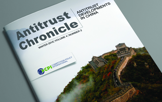Antitrust Developments in China