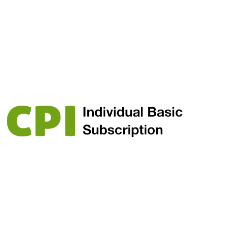 Individual Basic Subscription