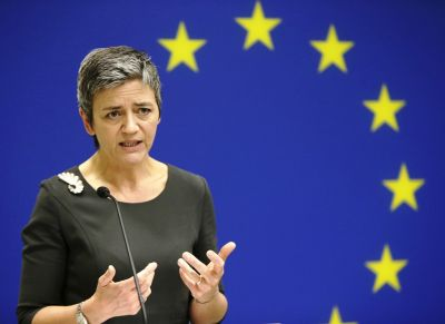 EU: Vestager says Companies misled regulators for merger clearance