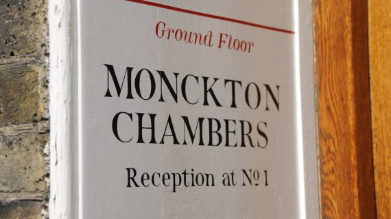 EU: Competition specialist  joins Monckton Chambers