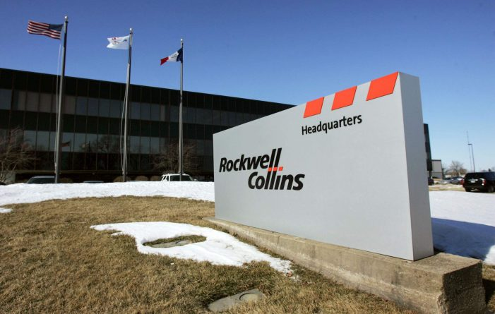 US: United Technologies nearing US$20b Deal to buy Rockwell Collins