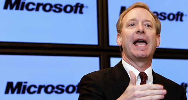 """US: Microsoft President: """"If you create tech that changes the world, the world is going to want to regulate you"""""""
