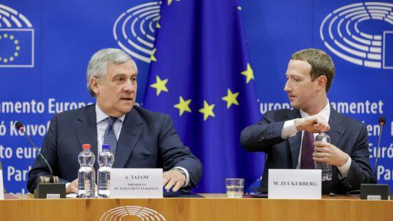 EU: Lawmakers press Zuckerberg on antitrust concerns