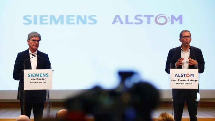 EU: Siemens-Alstom rail merger triggers investigation