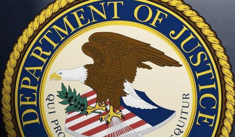 Department of justice logo