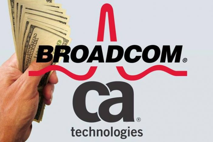 US: Broadcom to acquire CA Technologies for US$18.9b