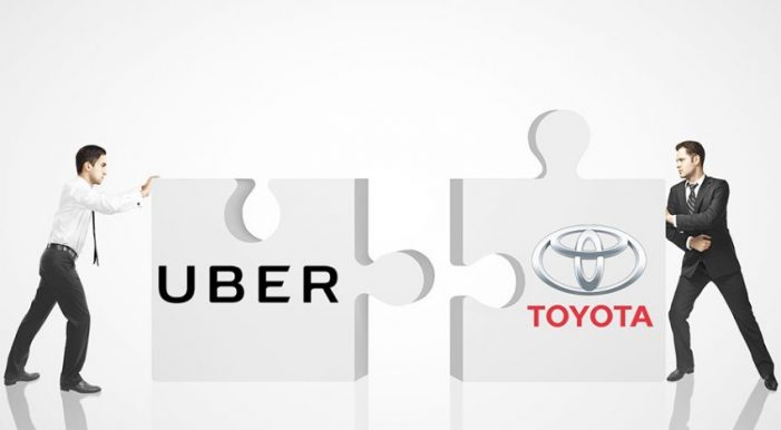 US: Toyota ties up with Uber