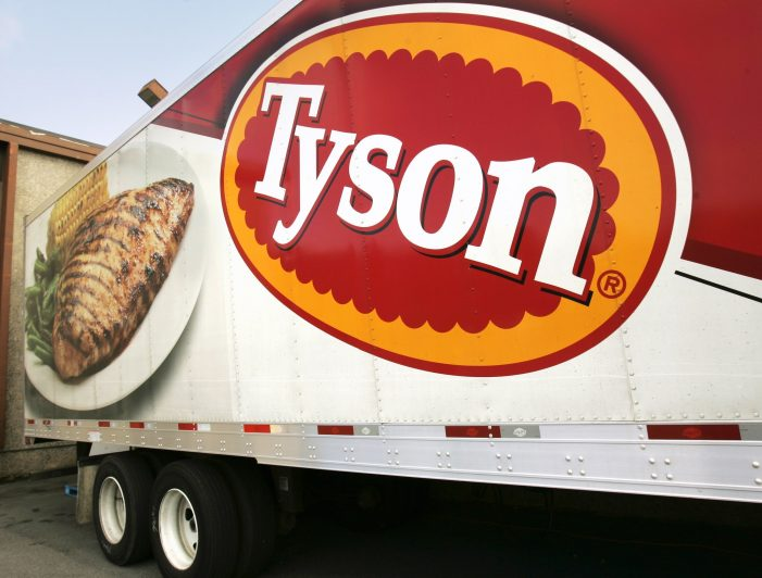 US: Tyson received a subpoena from the DOJ
