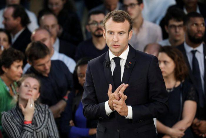 EU: Macron, Xi, Merkel and Juncker hold talks in Paris
