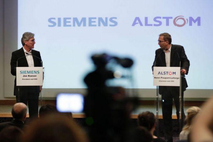 EU: Siemens, Alstom to face antitrust warning