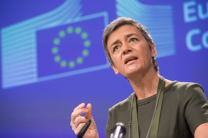 EU: Vestager advocates regulating data access over breaking up big tech