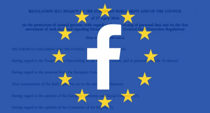 EU: Facebook to change the rules for providing services