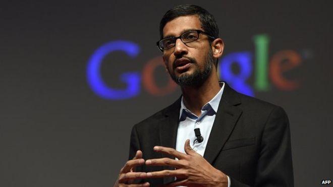 US: Google's Pichai comments on antitrust allegations