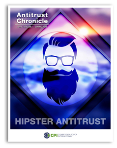 Antitrust Chronicle April 2018. Hipster Antitrust.