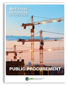Antitrust Chronicle April 2019 - I. Public Procurement.