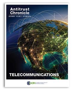 Antitrust Chronicle November 2016. Telecommunications