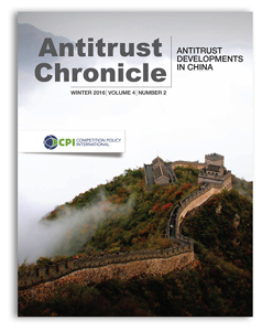 Antitrust Chronicle Winter 2016 - II