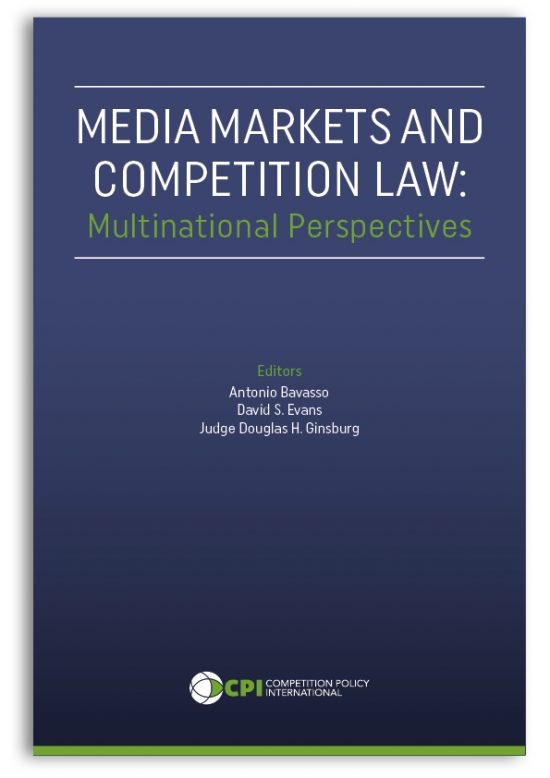 book cover media markets and competition law