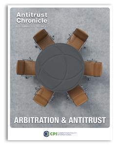 Antitrust Chronicle July 2019 - I. Arbitration & Antitrust cover