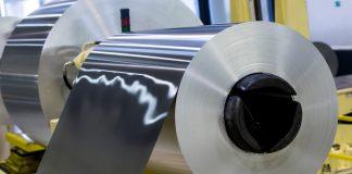 Aluminum at a factory