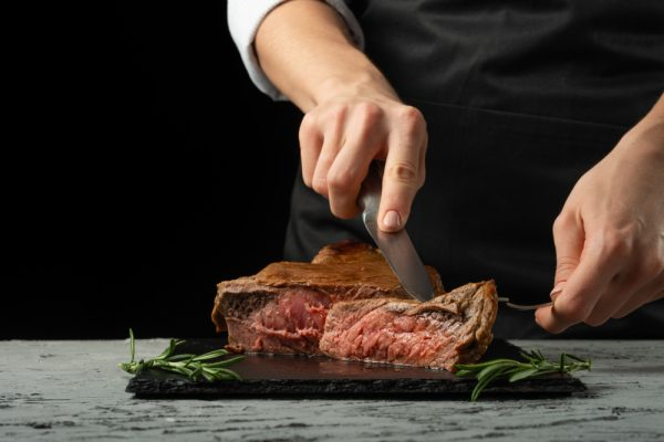 beef cutting image