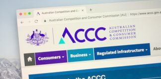 ACCC website homepage