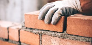 construction with bricks