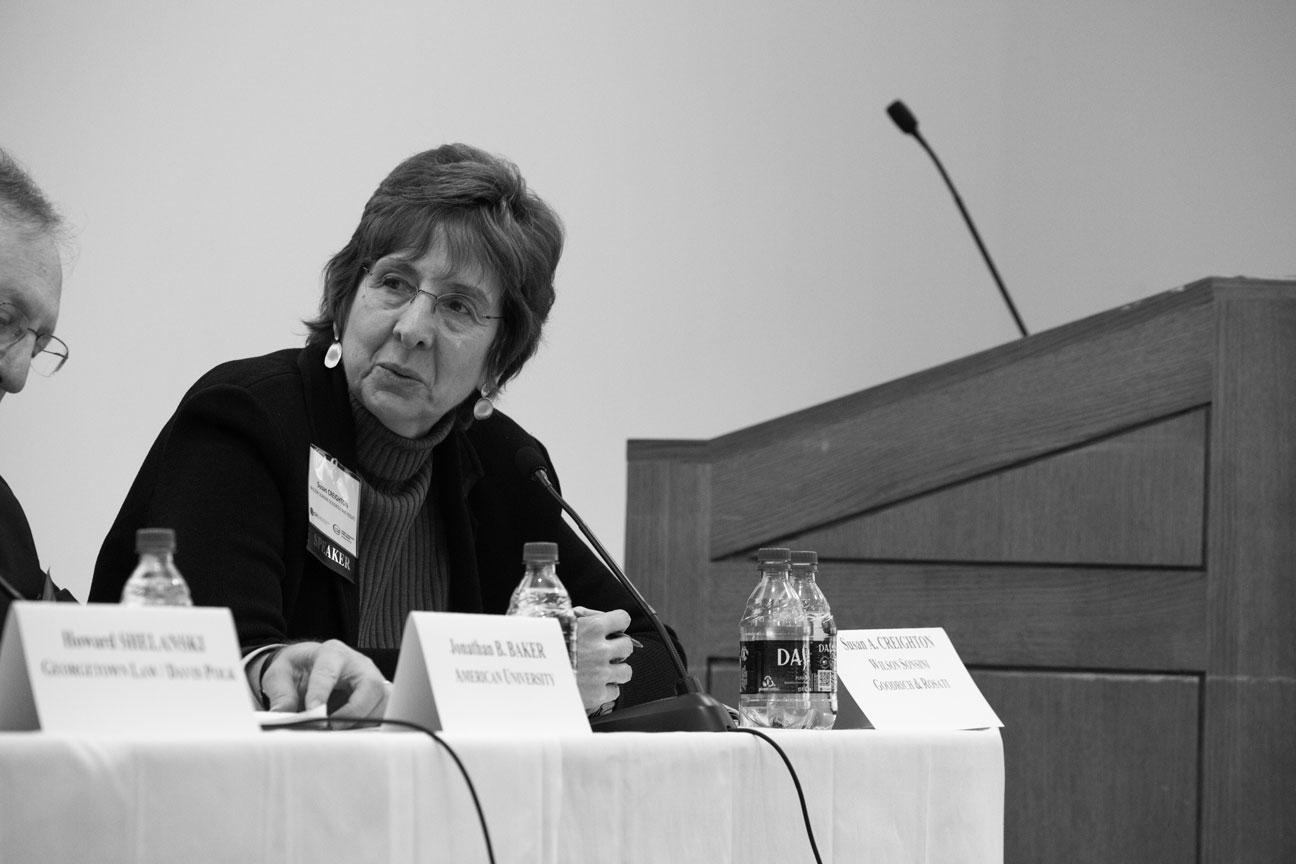 Susan A. CREIGHTON Challenges To Antitrust Harvard 2019