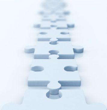 Vertical puzzle