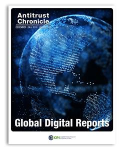 Antitrust Chronicle 2019 December II - Global Digital Reports cover