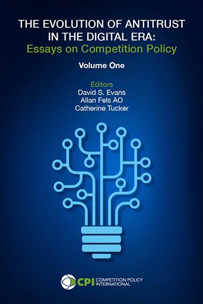 The Evolution of Antitrust in the Digital Era cover