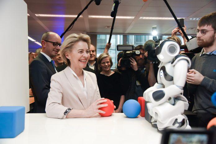 Visit of Ursula von der Leyen, President of the European Commission, to the VUB