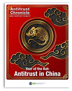 Year of the Rat: Antitrust in China - MARCH-2020-1 Cover