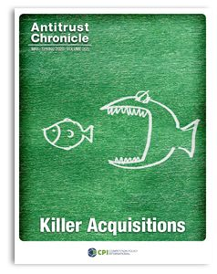 Antitrust Chronicle Killer Acquisitions MAY 2020-2