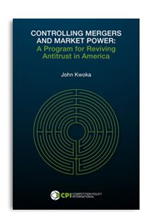 CONTROLLING MERGERS AND MARKET POWER COVER JOHN KWOKA