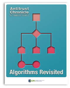 Antitrust Chronicle Algorithms Revisited JULY 1 Cover