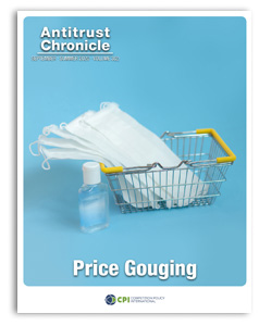 Antitrust Chronicle Price Gouging September 2