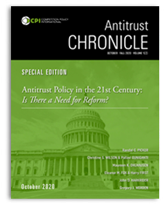Antitrust Chronicle Special Edition October 2