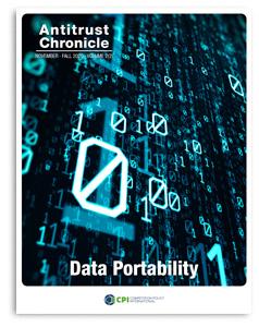Antitrust Chronicle DATA PORTABILITY November 2 2020