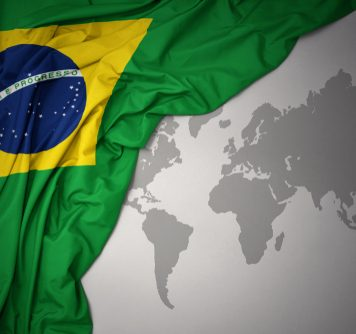 Brazil with world