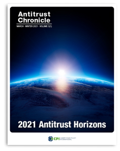 Antitrust Chronicle 2021 Antitrust Horizons Cover March