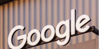 Google logo light