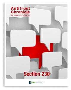 Antitrust Chronicle May ii 2021 Section 230