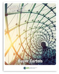Antitrust Chronicle - Buyer Cartels June ii 2021 cover