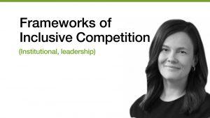 Anita Banicevic moderator Inclusive Competition